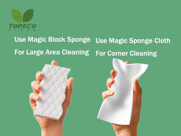 high density magic melamine sponge cloth