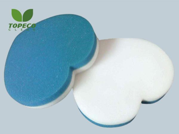 heart-shaped compound magic sponge