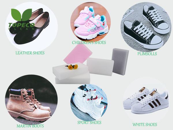 magic sponge for shoes