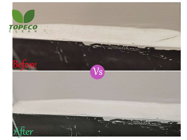 use of magic cleaning sponge wall cleaner