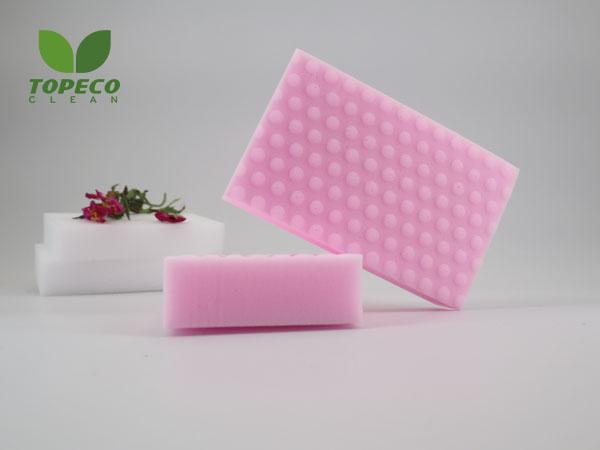 white magic cleaning sponge for room