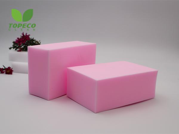 pink magic melamine foam