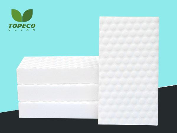 free white compressed magic sponges