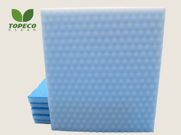 Topeco Clean magic sponge cloth in China
