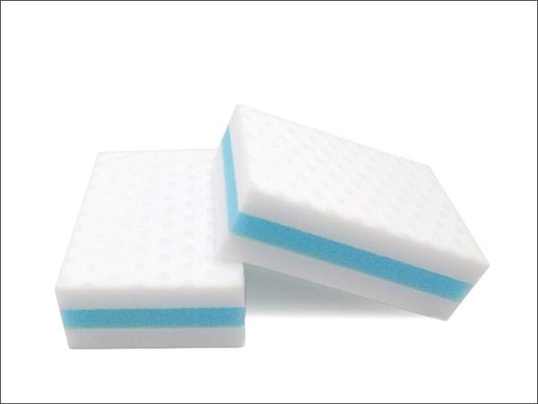 compressed high density sponge