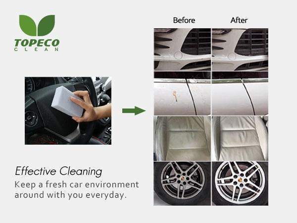 magic car sponge cleaner