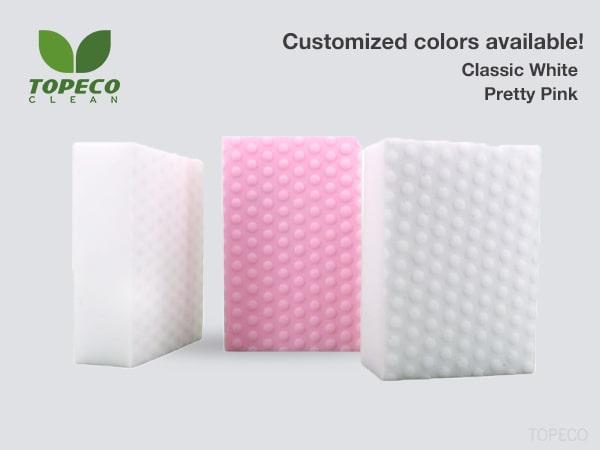 pink high density melamine foam