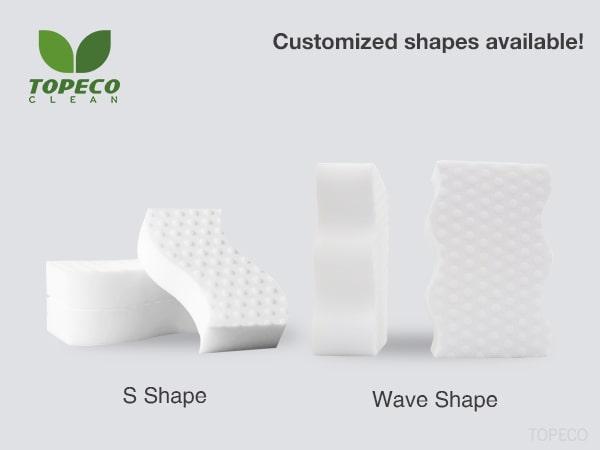 custom high density melamine sponge