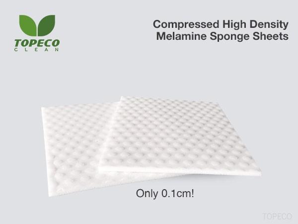 compressed melamine sponge sheets
