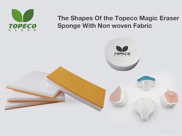 magic eraser sponge with non woven fabric