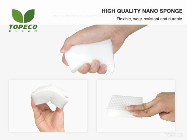 high density nano sponge