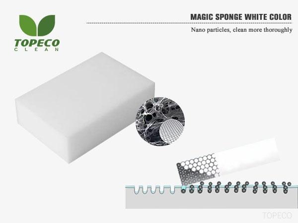 magic sponge white