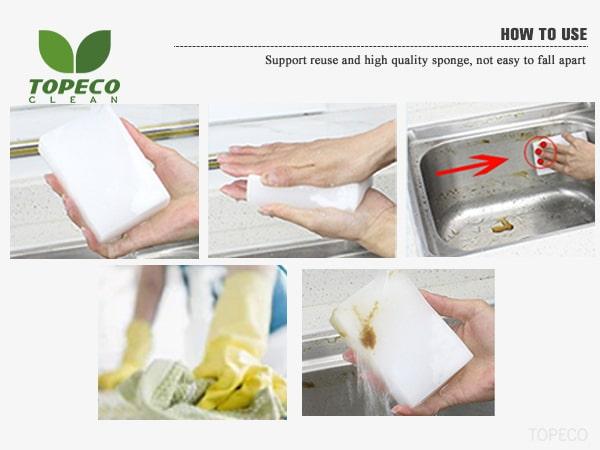 magic eco sponges use
